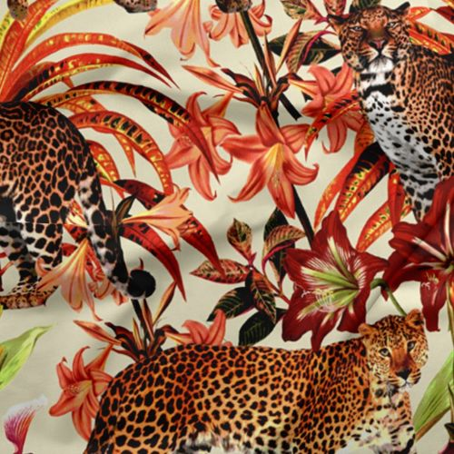 Leopard Print Fabric by the Yard - Exclusively by SmithHönig
