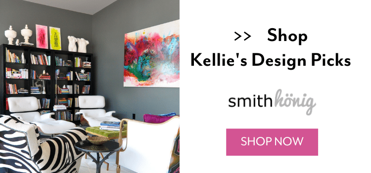 SmithHönig co-founder Kellie Smith is an interior designer known for getting a little wild and pushing design boundaries. Read on as Kellie shares where she pulls her global inspiration from and some of her most risk-taking projects.