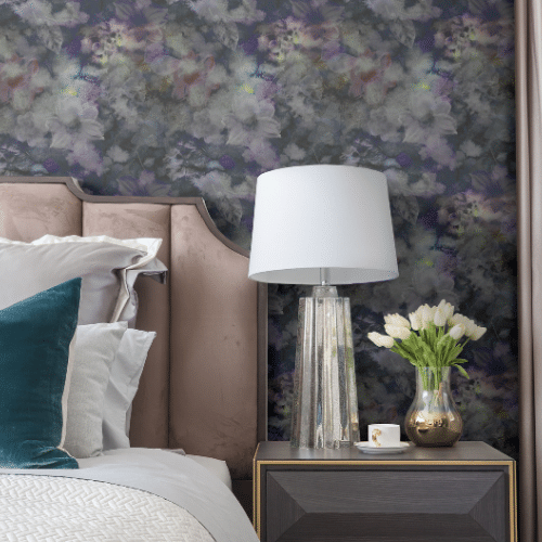 Your home's bedroom walls are the ideal place to experiment with color and pattern, and thanks to commitment-free peel and stick wallpaper you can dress up one feature wall or all four with your own unique look.